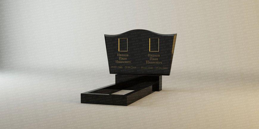 Горизонтальный памятник: B-01