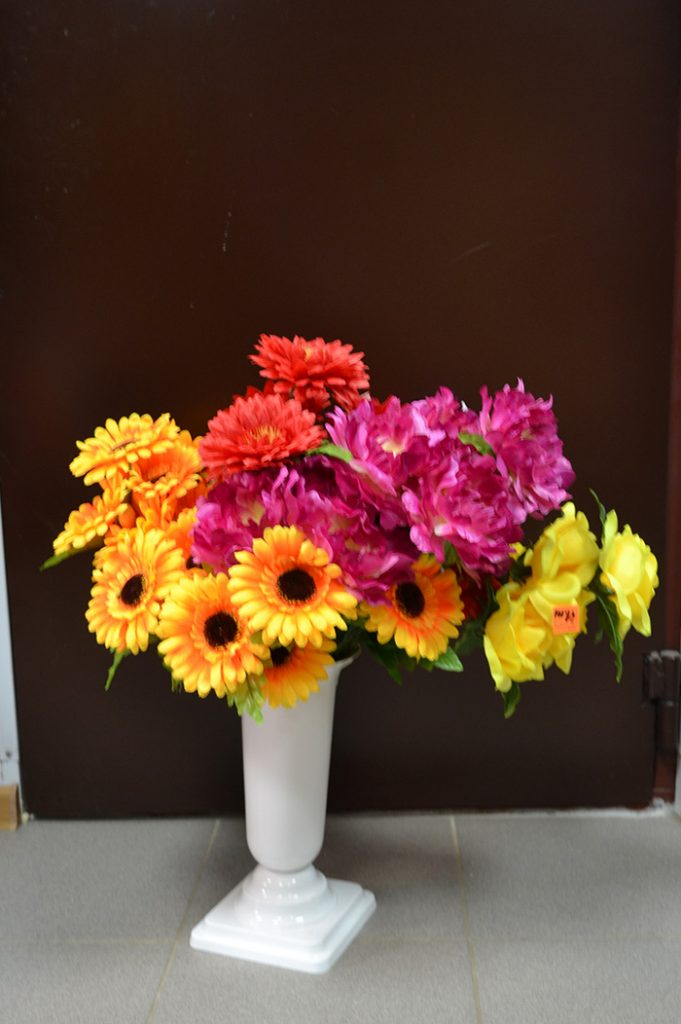Искусственные цветы: 002