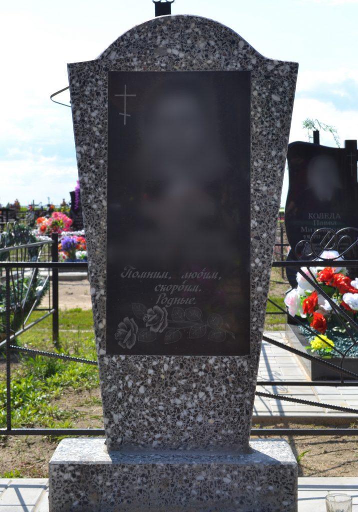 Памятник из мраморной крошки: 003