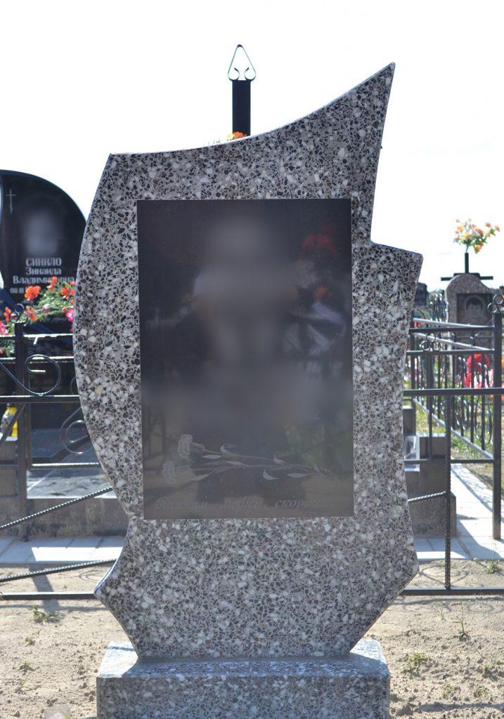 Памятник из мраморной крошки: 006