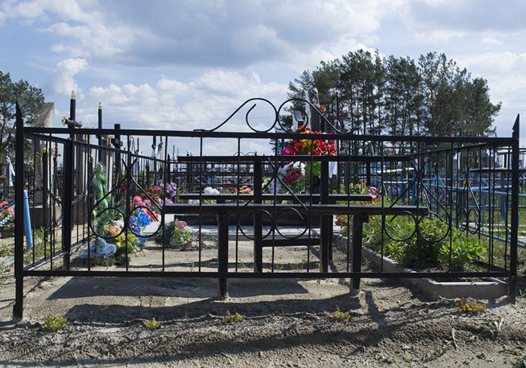 Металлическая ограда: 008
